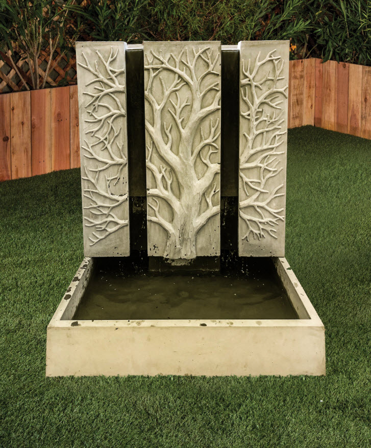 Tree Outdoor Water Fountain