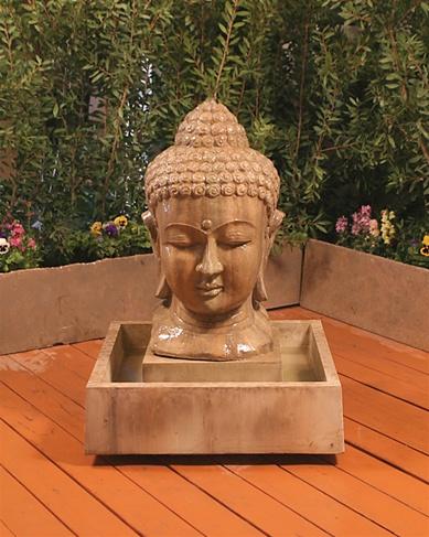 Gist Buddha Head Small Fountain